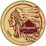 Iroquois Beer & Ale Metal Sign