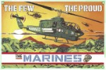 US Marine Cobra Helicopter Metal Sign