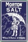 Morton Salt 1914 Metal Sign