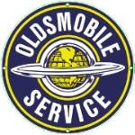 Oldsmobile Service Metal Sign