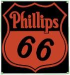 Phillips 66 Metal Sign