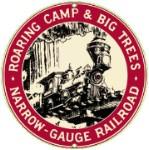 Roaring Camp Railroad Metal Sign