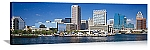 Baltimore, Maryland  Waterfront Panorama Picture