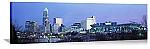 Charlotte, North Carolina Evening Skyline Panorama Picture