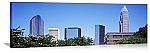 Charlotte, North Carolina High Rise Skyline Panorama Picture