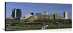 Fort Worth, Texas City Skyline Panorama Picture