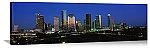 Houston, Texas Skyline at Night Panorama Picture