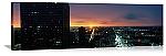Houston, Texas Sunset Skyline Panorama Picture