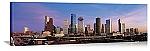 Houston, Texas Twilight Skyline Panorama Picture