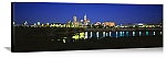 Indianapolis, Indiana Skyline at Dusk Panorama Picture