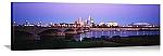 Indianapolis, Indiana White River Bridge Panorama Picture