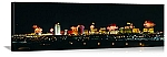 Las Vegas, Nevada Fireworks Over The Strip Panorama Picture