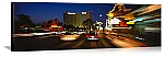 Las Vegas, Nevada Street Traffic Panorama Picture
