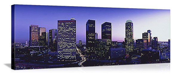 Los Angeles, California Skyline Panorama Picture