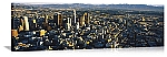 Los Angeles, California Aerial Panorama Picture
