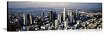 Los Angeles, California Aerial Skyline View Panorama Picture