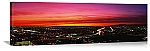 Los Angeles, California Aerial Sunset Panorama Picture
