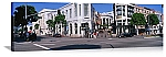 Los Angeles, California Beverly Hills Streetscape Panorama Picture