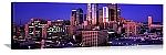 Los Angeles, California Dawn Over Downtown Panorama Picture