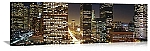 Los Angeles, California Downtown Nights Panorama Picture