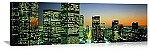 Los Angeles, California Downtown Skyline Panorama Picture