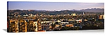 Los Angeles, California Hollywood Skyline Panorama Picture