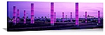 Los Angeles, California  Light Sculptures at LAX Panorama Picture