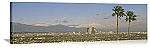Los Angeles, California San Gabriel Mountain Skyline Panorama Picture