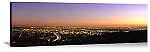 Los Angeles, California View From The Hollywood Hills Panorama Picture