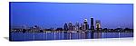 Louisville, Kentucky Evening Skyline Panorama Picture