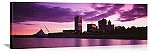 Milwaukee, Wisconsin Skyline at Dusk Panorama Picture