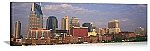 Nashville, Tennessee Downtown Skyline Panorama Picture