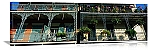 New Orleans, Louisiana Bourbon Street Balconies Panorama Picture