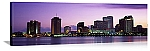 New Orleans, Louisiana Dusk Skyline Panorama Picture
