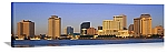 New Orleans, Louisiana Sunrise Skyline Panorama Picture