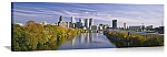 Philadelphia, Pennsylvania Schuylkill River Skyline Panorama Picture