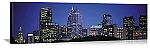 Philadelphia, Pennsylvania Twilight Skyline Panorama Picture