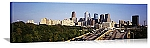 Philadelphia, Pennsylvania Route 76 Skyline Panorama Picture