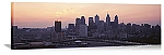 Philadelphia, Pennsylvania Sunrise Skyline Panorama Picture