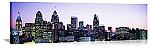 Philadelphia, Pennsylvania Twilight Skyline Panorama Picture