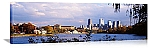 Philadelphia, Pennsylvania Riverfront Skyline Panorama Picture