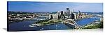 Pittsburgh, Pennsylvania Delaware River Skyline Panorama Picture