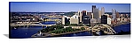 Pittsburgh, Pennsylvania Downtown Skyline Panorama Picture