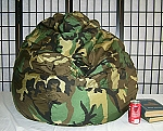 Camo Bean Bag Chair