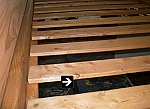 Full Size Wood Bed Slat Package
