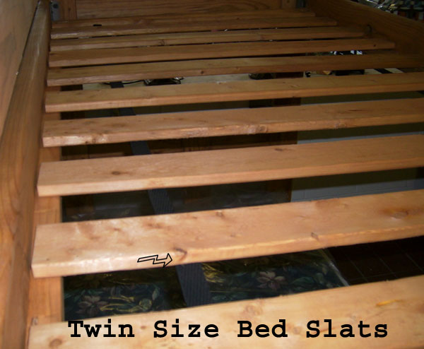 twin extra long bed slats wooden - Extra Long Twin Bed Frame