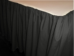 Black Dustruffle Bedskirt Full/Double Size