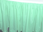 Mint Green Dustruffle Bedskirt Full/Double Size