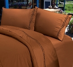 Luxurious Rustic Bedding Western Copper Barbwire Sheet Set