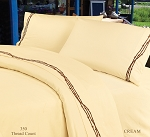 Luxurious Rustic Bedding Western Cream Barbwire Sheet Set